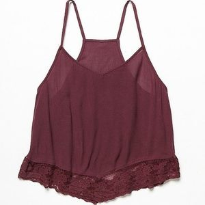 Free People Lace and Petals Cami